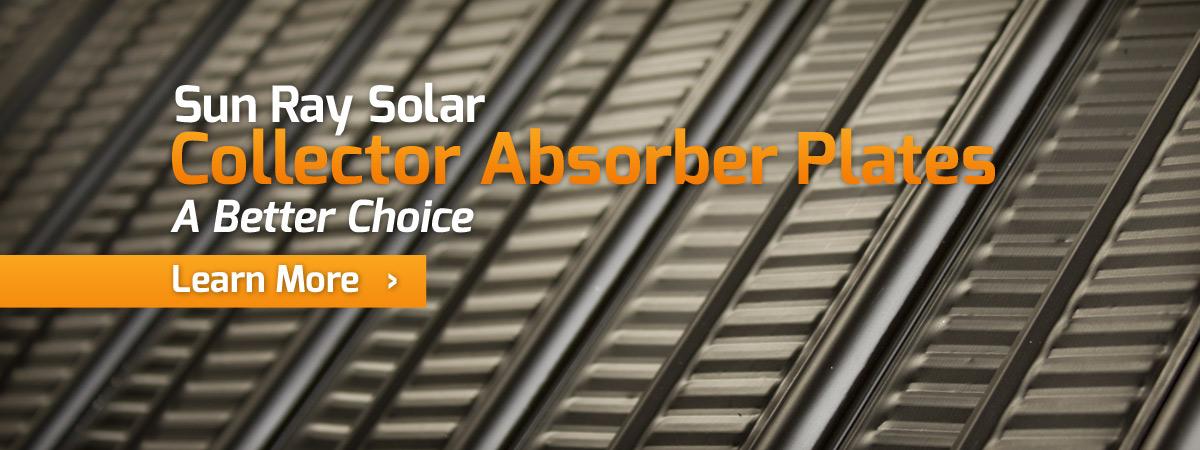 Solar Panel Absorber Plate